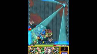 【モンスト】水駆ける天叢雲の皇子 超絶攻略【ヤマトタケル スピクリ&ゲージ飛ばし