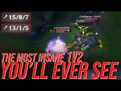 LL Stylish - THE MOST INSANE 1V2 YOU'LL EVER SEE - UNRANKED TO CHALLENGER
