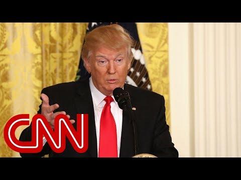Trump's initial explanation for firing Michael Flynn