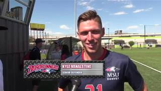 Men's Soccer Interviews after Dixie State Win