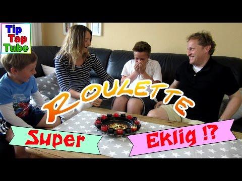Roulette Challenge Super Eklig !? Partyspiel für die ganze Familie TipTapTube Kinderkanal