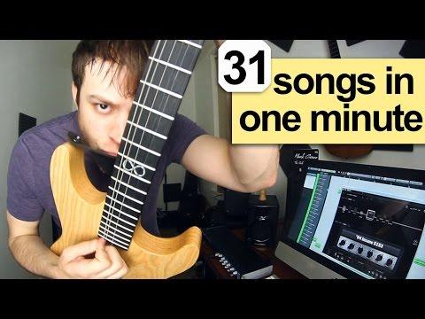 31 Songs in 1 Minute