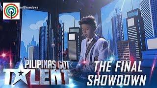 Pilipinas Got Talent Season 5 Live Finale: Kurt Philip Espiritu - Singer