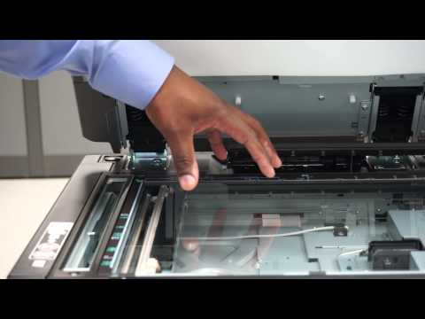Cleaning a Copier's Scan Glass Tutorial