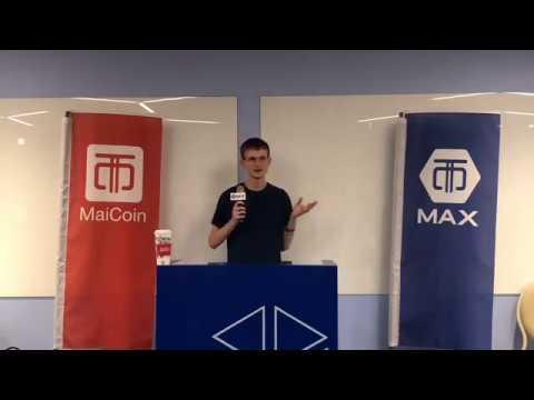 11/28 Vitalik on Interactive Coin Offering at Maicoin