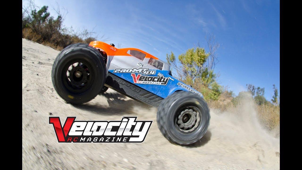 Pro Line Pro Mt 4x4 Review Velocity Rc Cars Magazine Youtube