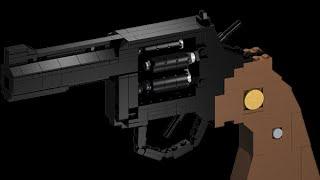 Brickgun Lego Python 357 review