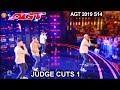 Berywam Beatboxing Group DID THEY IMPRESS THEM? | America's Got Talent 2019 Judge Cuts