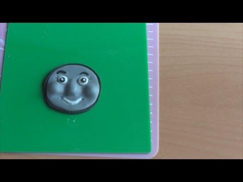 Как сделать из мастики лицо паровозика Тома