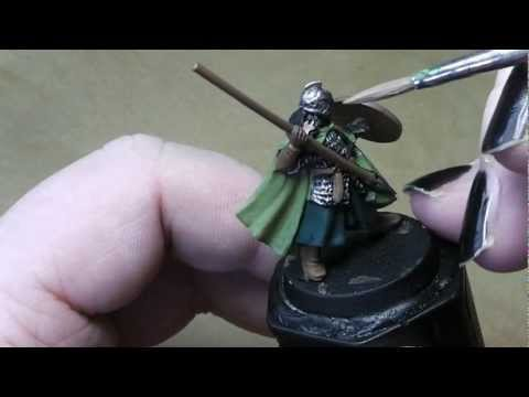 How to paint a Rohan Warrior from Lord of the Rings