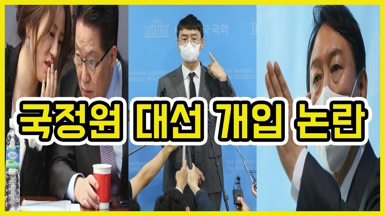 국정원 대선 개입 논란 간단 정리 | 도람뿌