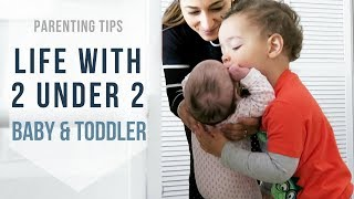 HOW DO I COPE WITH 2 UNDER 2? Top Tips For Parents With Young Kids | Ysis Lorenna