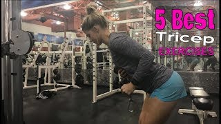 5 Best Tricep Exercises For Women