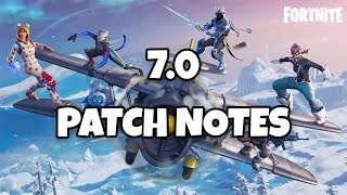 Fortnite 7.0 Patch Notes | Is This The Best Patch Ever? (Season 7)