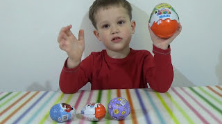 Яйца с игрушками