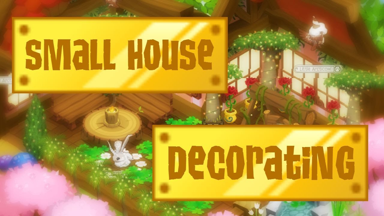 Animal Jam Decorating A Small Den Quot Nature S Resort Quot Youtube