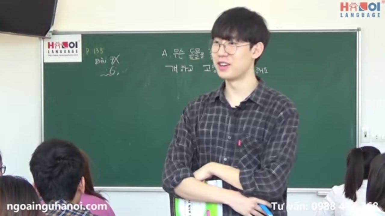 Học tiếng Hàn Quốc – Ngày cuối tuần bạn làm gì ?