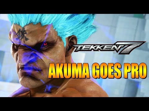 AKUMA GOES PRO: Online Tournaments - Tekken 7