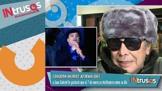Joaquín Muñoz explica por qué Juan Gabriel no ha reaparecido | INtrusos