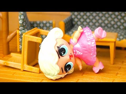 Kids Toys L.O.L. Toy Surprise Dolls & Calico Critters Story for Kids - Goldilocks & the Three Bears