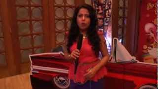 Ruchika Davar anchors a short feature for a leading bank