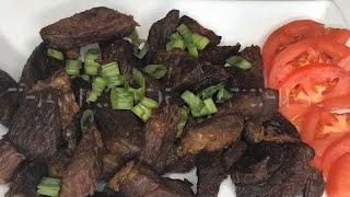 How To Make carne frita and Jellof Rice