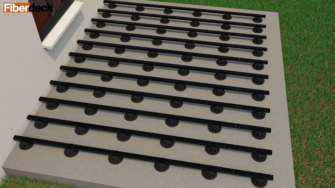 Structur Al Lambourdes Aluminium Pour Terrasse Bois Youtube