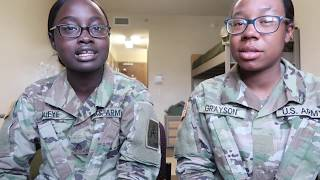 SURVIVING ARMY BASIC TRAINING PT 1 - OUR EXPERIENCE IN FT JACKSON 2019 - BASIC TRAINING 101