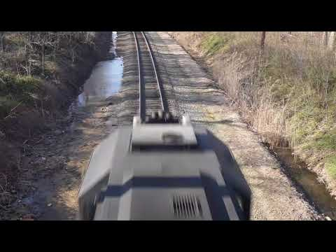 """TRACKS ABANDON""  [Urban Rails]  NJ Transit, EMD GP 40-2  (Sony a6000/wx350 mp4 video)"