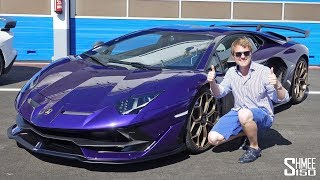 THIS is the New Lamborghini Aventador SVJ! | TEST DRIVE