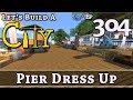 How To Build A City :: Minecraft :: Pier Dress Up :: E304