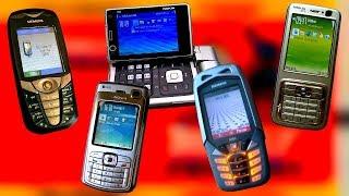 Легендарные телефоны начала 2000х от которых школьники писались кипятком