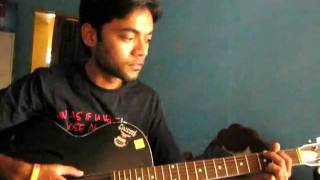 Sochta hu uska dil on guitar