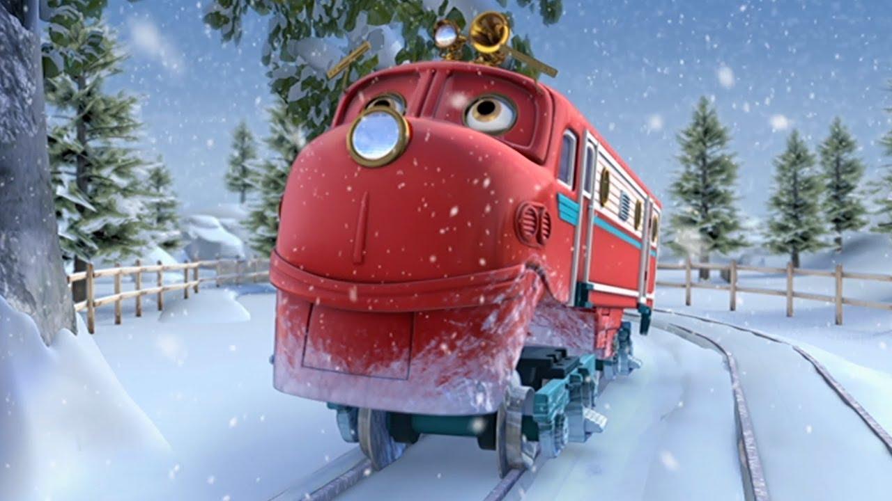 Chuggington Wooden Railway Snow Struck Wilson