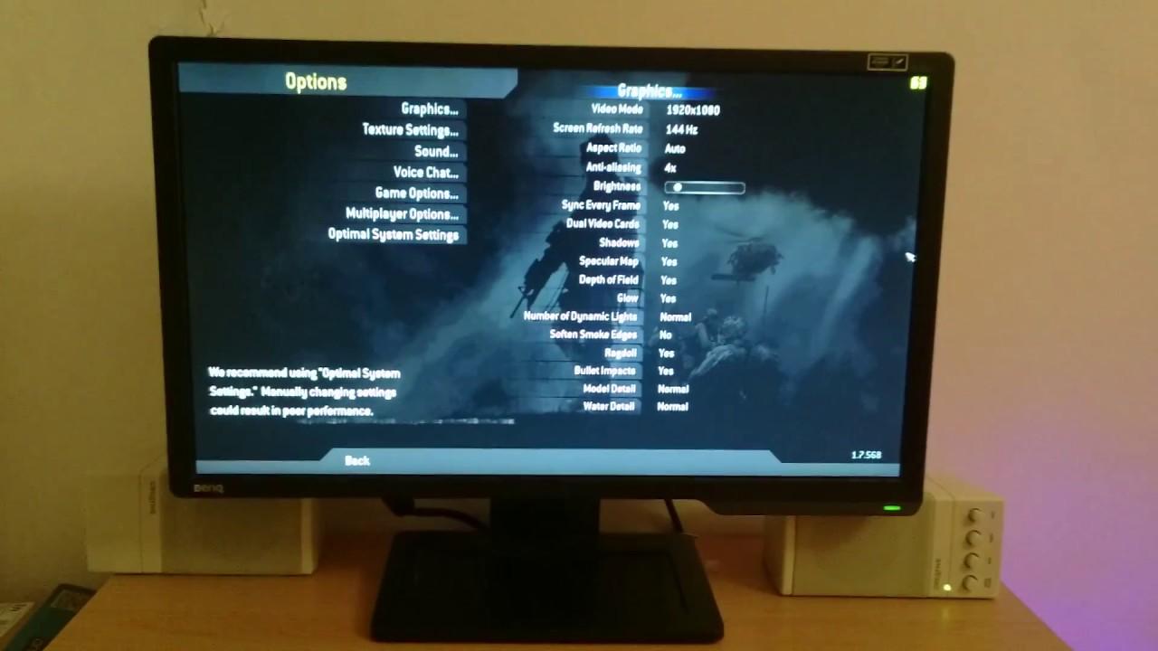 BenQ XL2411Z, 144hz,1ms,1080p,24