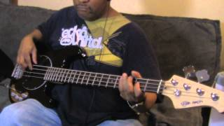 Bootsy Collins bass cover Stretchin out