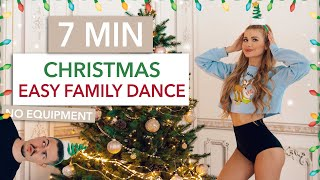 7 MIN CHRISTMAS DANCE WORKOUT - Easy Family Edition with my brother I Pamela & Dennis Reif