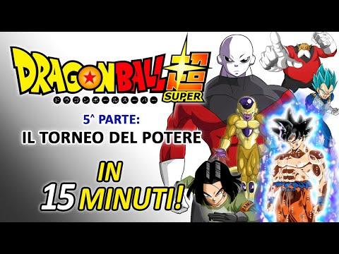 Dragonball Super - Il torneo del potere in 15 minuti!