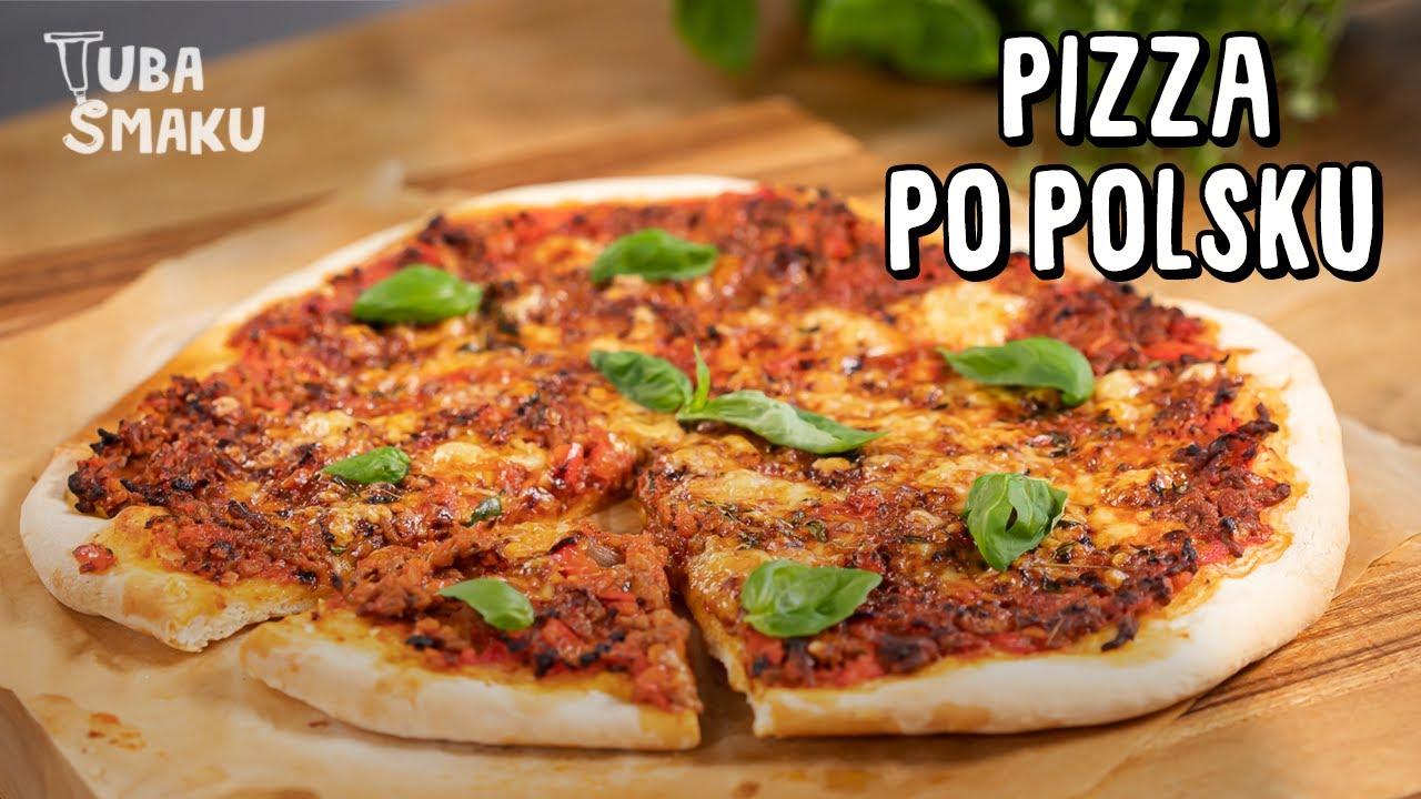 Domowa PIZZA w polskim stylu!🍕Prosty przepis    Pascal Brodnicki