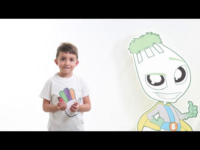 I cinque colori del Gusto e del Benessere - colore bianco - video spot