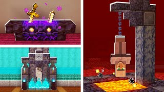 5 Building HACKS You Didn't Know in the NETHER UPDATE in Minecraft! (NO MODS!)