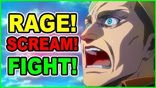 RAGE My Soldiers! Levi Vs Beast Titan Army | Attack on Titan Season 3 Part 2 Episode 4