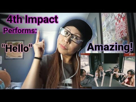 "4TH IMPACT PERFORMS ""HELLO"" (ADELE) LIVE ON WISH 107.5 BUS 