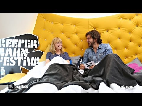 Lucy Rose - In Bed with Interview at Reeperbahn Festival 2015
