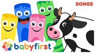 Old Macdonald had a Farm | Color Crew Musical | Nursery Rhymes for Babies Compilation | Baby First