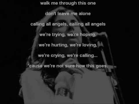 THE TENORS - ANGELS CALLING LYRICS