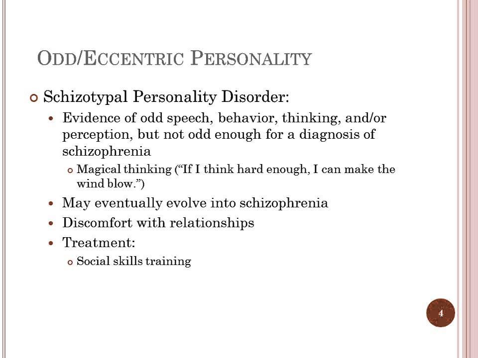 Eccentric Person