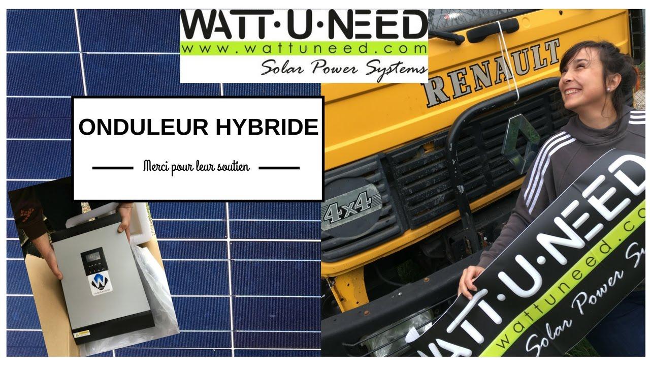 comment rendre notre camion autonome en electricit wattuneed youtube. Black Bedroom Furniture Sets. Home Design Ideas