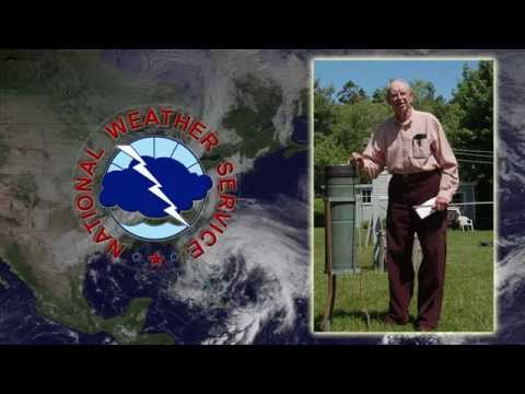 NOAA honors New York farmer for 84 years as volunteer weather observer