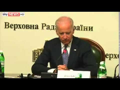 Biden In Ukraine In US Show Of Support